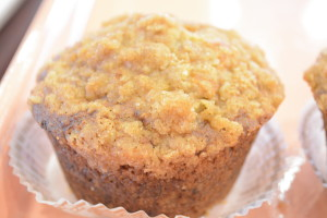 Banana Nut Crumb Muffin
